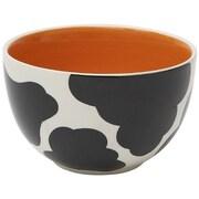 Woodard & Charles Cow Ice Cream Bowl (Set of 6); Orange