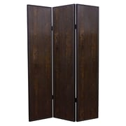 Screen Gems 71'' x 52'' Criss Cross 3 Panel Room Divider