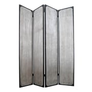 Screen Gems 83'' X 63'' Industrial 4 Panel Room Divider