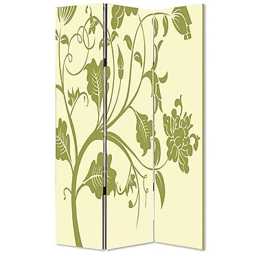 Screen Gems 72'' x 48'' Avery 3 Panel Room Divider