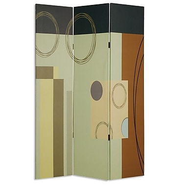 Screen Gems 73'' x 48'' Haily Screen 3 Panel Room Divider