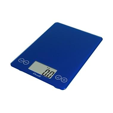 Escali Arti Glass Digital Scale Electric Blue