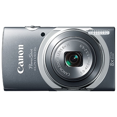 Canon® PowerShot ELPH 140 IS 16MP 8x Optical Zoom 2.7in. LCD Compact Digital Cameras