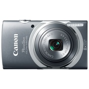 Canon® PowerShot ELPH 140 IS 16MP 8x Optical Zoom 2.7 LCD Compact Digital Camera, Gray