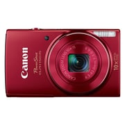 Canon® PowerShot ELPH 150 IS 20MP 10x Optical Zoom 2.7 LCD Compact Digital Camera, Red