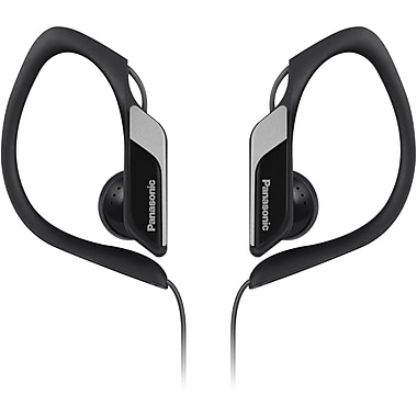 Panasonic® RP-HS34 Water Resistant Sports Clip Earbud Headphones