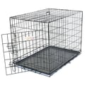 Majestic Pet 24in. Single Door Folding Dog Crate, Small