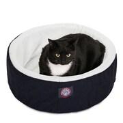 Majestic Pet 20 Cat Cuddler Pet Bed, Black