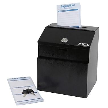 Adir Corp Keyed Suggestion Drop Box