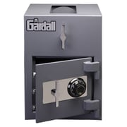 Gardall Light Duty Commercial Depository Safe; Dual Key Lock