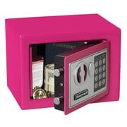 Honeywell Digital Lock Security Safe (0.19 Cubic Feet); Pink