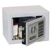 Honeywell Digital Lock Security Safe (0.19 Cubic Feet); White