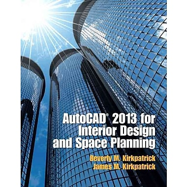 AutoCAD 2013 for Interior Design and Space Planning, Used Book