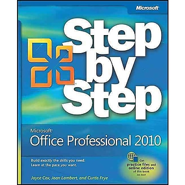 Microsoft Office Professional 2010 Step by Step, Used Book