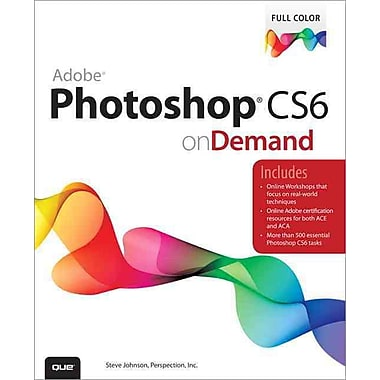 Adobe Photoshop CS6 on Demand, New Book