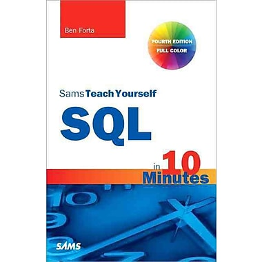 Sams Teach Yourself SQL in 10 Minutes, Used Book