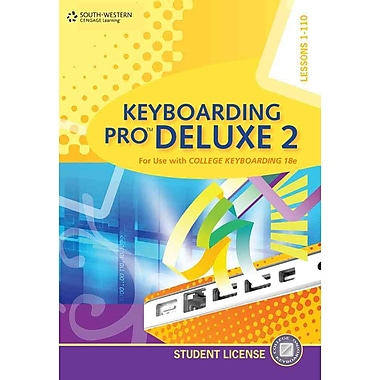 Keyboarding Pro Deluxe 2 Student License, New Book