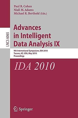 Advances in Intelligent Data Analysis IX 1121524