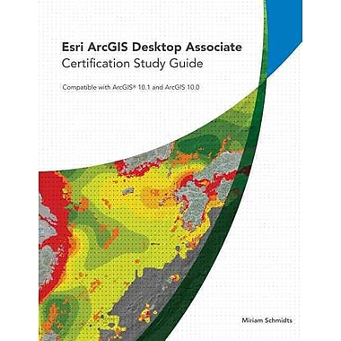 Esri ArcGIS Desktop Associate Certification Study Guide, Used Book