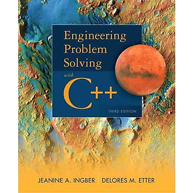 Engineering Problem Solving with C++ (3rd Edition), New Book