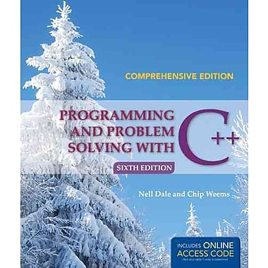 Programming And Problem Solving With C++: Comprehensive, New Book