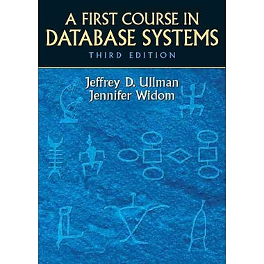A First Course in Database Systems, New Book