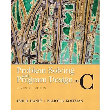 Problem Solving and Program Design in C, New Book