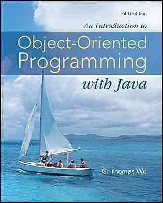 An Introduction to Object-Oriented Programming with Java 1123241