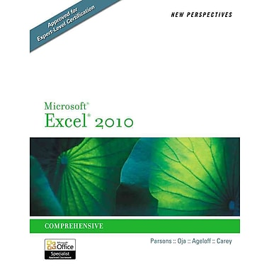 New Perspectives on Microsoft Excel 2010: Comprehensive, New Book