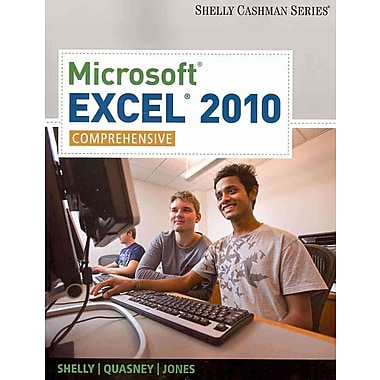 Microsoft Excel 2010: Comprehensive (Shelly Cashman), New Book