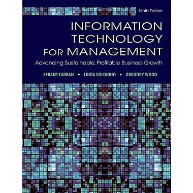 Information Technology for Management: Advancing Sustainable, Profitable Business Growth, Used Book