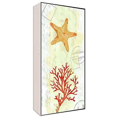 Green Leaf Art Sea Natural I Graphic Art; 40'' H x 20'' W x 1.5'' D