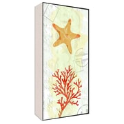 Green Leaf Art Sea Natural I Wall Art; 40'' H x 20'' W x 1.5'' D