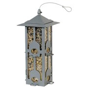 Birdscapes Squirrel-Be-Gone Hopper Bird Feeder
