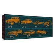 Green Leaf Art Car History Graphic Art; 20'' H x 40'' W x 1.5'' D