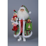 Karen Didion Crakewood Peppermint Candy Santa