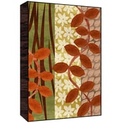Green Leaf Art Leaves and Branches II Wall Art; 14'' H x 11'' W x 1.5'' D