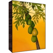 Green Leaf Art Green Fruit Wall Art; 18'' H x 12'' W x 1.5'' D