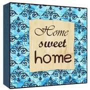Green Leaf Art Home Sweet home Wall Art; 24'' H x 24'' W x 1.5'' D