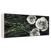 Green Leaf Art Romantic Roses II Graphic Art; 10'' H x 20'' W x 1.5'' D