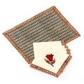 Mela Artisans Malini 12 Piece Placemat Set