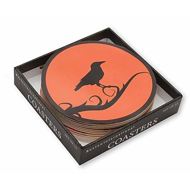 Boston International Raven Boxed Coaster (Set of 12)