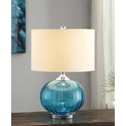 Crestview Sea Side New Port 22'' H Table Lamp with Drum Shade