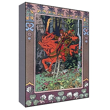 Green Leaf Art Gentlemen Fairy Tale II Graphic Art