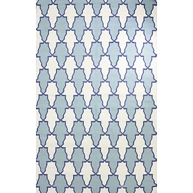 nuLOOM Remade Blue Trina Rug; 5' x 8'
