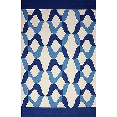 nuLOOM Novel Aldo Blue Indoor/Outdoor Area Rug; 5' x 8'