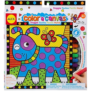 Alex Toys® Color A Canvas Kit, Doggie