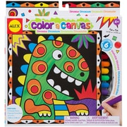 Alex Toys® Color A Canvas Kit, Dinosaur