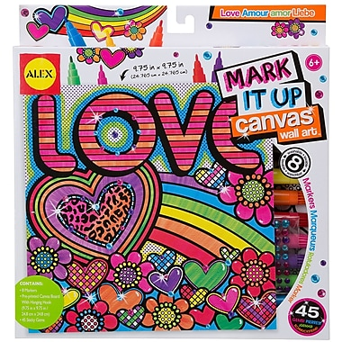 Alex Toys® Mark It Up Canvas Wall Arts