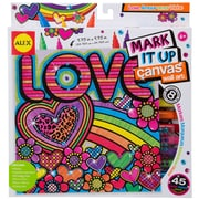 Alex Toys® Mark It Up Canvas Wall Art, Love